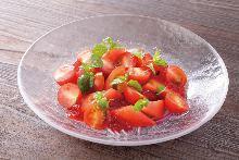 トマトのワインジュレ