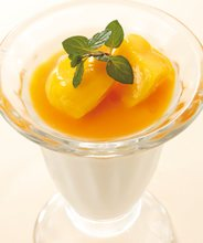 Almont jelly with mango
