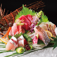 Assorted sashimi of the day, 7 kinds