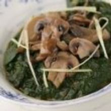 Palak Mushroom
