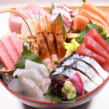 Assorted sashimi, 8 kinds
