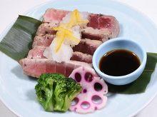 Fatty tuna steak
