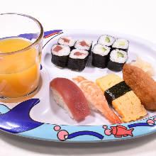 Kids' sushi set