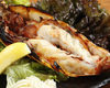 Yellow sea prawn grilled with salt