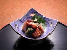 Octopus kimchi