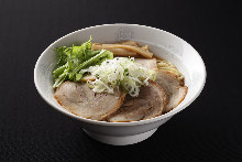 Soy sauce chashu noodles