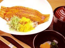 Conger eel rice bowl
