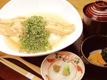 Conger eel rice bowl