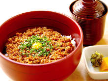 Soboro Gohan(Seasoned ground meat rice)