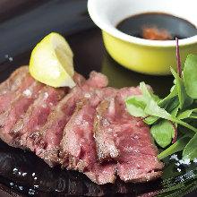 Beef rump or Ichibo (rump cap) steak