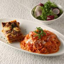 Pasta lunch set