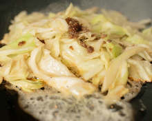 Anchovy and cabbage