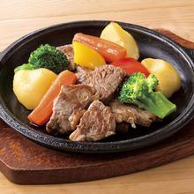 牛サーロインのおつまみステーキ