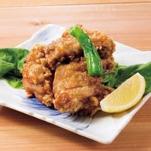 国産鶏もも肉の唐揚げ