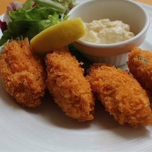 Deep-fried oysters