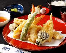 Premium tempura meal set