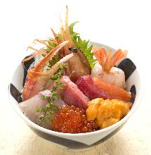 築地海鮮丼
