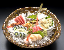 Assorted premium sashimi