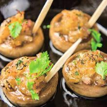 Mushroom teppanyaki