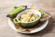 Mashed potatoes with garlic