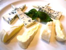 チーズ2種、盛り合わせ