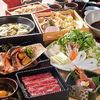 Sukiyaki Hot Pot Meal Course