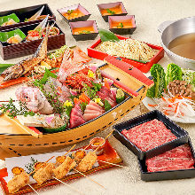 3,500 JPY Course (7  Items)