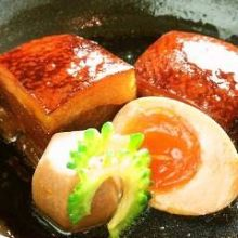 Okinawan stewed pork belly