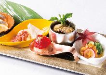 Assorted delicacies, 5 kinds