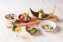 Assorted 3 Kyoto-style home recipes