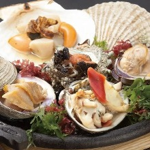Grilled shellfish