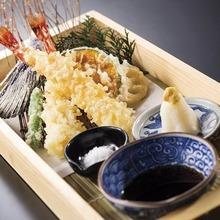 特大海老の天ぷら もりあわせ