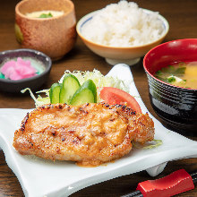 Pork loin set meal