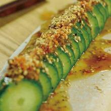 Spicy hot cucumbers