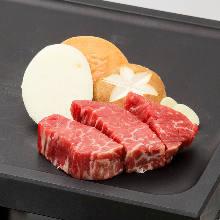 Wagyu beef filte mignon steak
