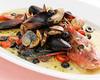 Freshly Prepared Red Sea Bream Served Acqua Pazza Style