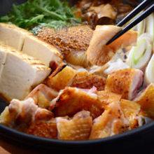 Chicken sukiyaki