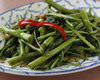 Chinese spinach stir-fry