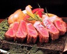 国産牛リブロース石焼ステーキ150g