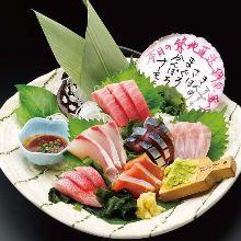 鮮魚6点盛り