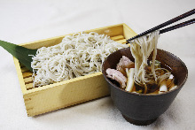 Buckwheat noodles with roasted duck