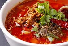 Mala soup noodle