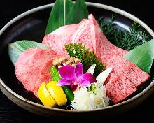 Assorted Wagyu beef, 3 kinds