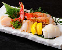 Assorted seafood