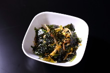 Namul (Korean seasoned vegetables or wild greens)