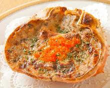 Crab gratin