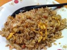 カルビと高菜の焼き飯
