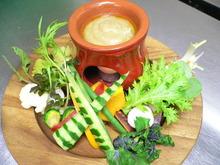 旬摘み野菜のバーニャカウダ