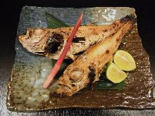 Lightly-dried rosy seabass