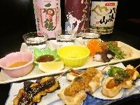 Sip and Study Japanese Sake, Consume and Compare Yakitori